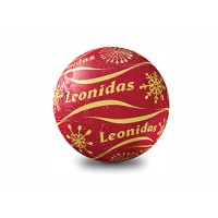 Vánoční koule červená - Belgické pralinky Leonidas