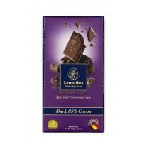 Tabulka čokolády Hořká - Belgické pralinky Leonidas