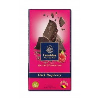 Tabulka čokolády Hořká s malinami - Belgické pralinky Leonidas