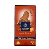 Tabulka čokolády Mléčná se slaným karamelem - Belgické pralinky Leonidas
