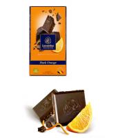 Tabulka čokolády Hořká s pomerančem - Belgické pralinky Leonidas