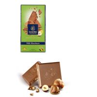 Tabulka čokolády Mléčná s lískovými ořechy - Belgické pralinky Leonidas