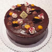 Čokoládový dort - Belgické pralinky Leonidas