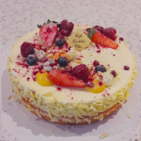 Marucujový dort - Belgické pralinky Leonidas