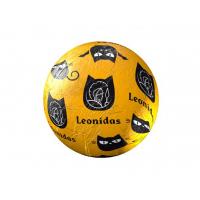 Halloweenská koule žlutá - Belgické pralinky Leonidas