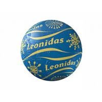 Vánoční koule modrá - Belgické pralinky Leonidas