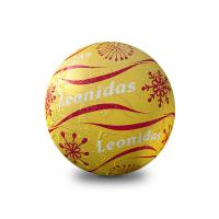 Vánoční koule zlatá - Belgické pralinky Leonidas