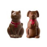 Pejsek a kočička mléčná 1ks - Belgické pralinky Leonidas