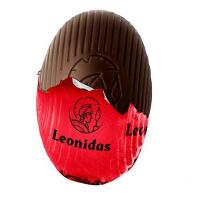 Vajíčko s malinovou náplní - Belgické pralinky Leonidas