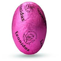 Vajíčko s praskacím cukrem - Belgické pralinky Leonidas