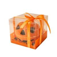 Čokoládová dýně Halloween 250 g s belgickými pralinkami - Belgické pralinky Leonidas
