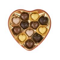 """Bonboniéra ve tvaru srdce """"Z lásky"""" 12 ks"""