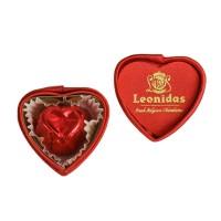 Bonboniéra srdce plyšové MINI - Belgické pralinky Leonidas