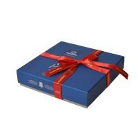 Modrá krabička Zanzibar - Belgické pralinky Leonidas