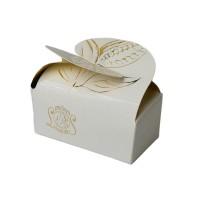 Krabička Motýlek bílá 2 ks