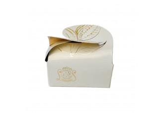 Krabička Motýlek bílá 2 ks - Belgické pralinky Leonidas