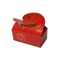 Krabička Motýlek červená 2 ks - Belgické pralinky Leonidas