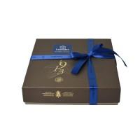 Hnědá krabička Zanzibar - Belgické pralinky Leonidas