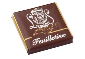 Plátek čokolády - Feuilletine