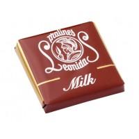 Plátek čokolády - Mléčný - Belgické pralinky Leonidas