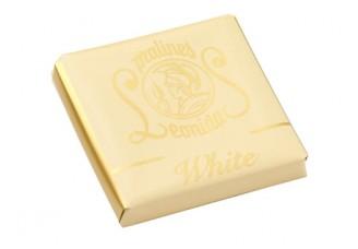 Plátek čokolády - Bílý
