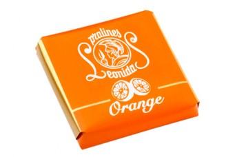 Plátek čokolády - Pomeranč
