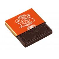 Plátek čokolády - Pomeranč - Belgické pralinky Leonidas