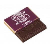 Plátek čokolády - Hořký 72%