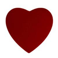 Srdce plyšové XL